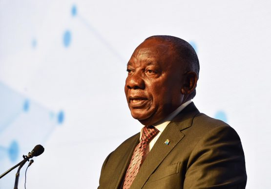 Ramaphosa was speaking to investors in Johannesburg for the first time after winning the electoral vote last week. Picture: Jairus Mmutle, GCIS