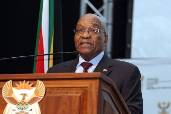 President Jacob Zuma pushes free education plan. Picture: Supplied