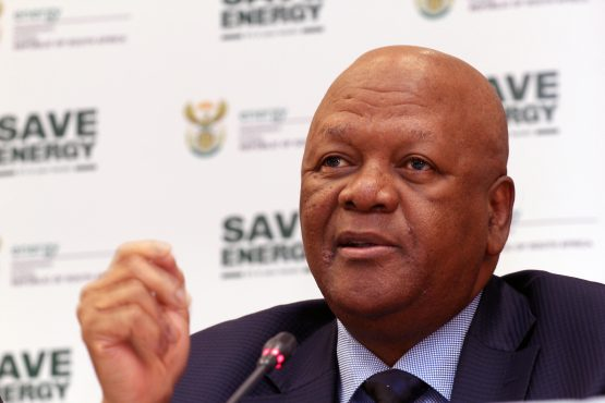 Energy minister, Jeff Radebe confirmd the axing of Necsa board. Picture: Moneyweb