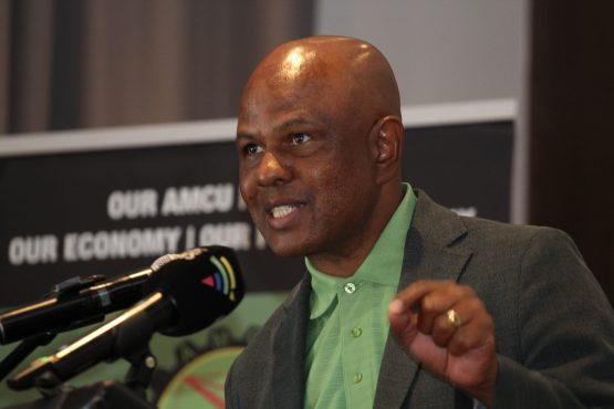 Amcu president Joseph Mathunjwa says the case against Samancor has been three years in the making. Samancor views allegations as 'malicious and opportunistic'. Image: Moneyweb