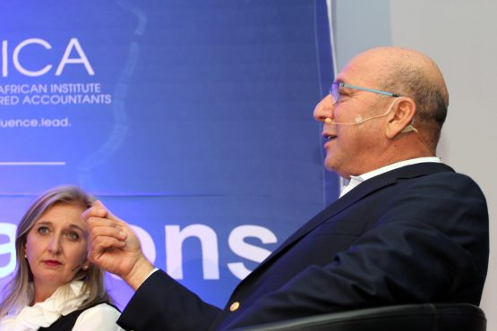 Linda de Beer and Trevor Manuel: changes required at Saica to allow for more proactive and assertive oversight. Picture: Moneyweb