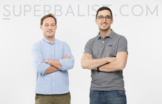 Co-CEOs of the Superbalist brand, Luke Jedeikin and Claude Hanan. Picture: Supplied