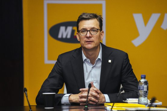 Rob Shuter, chief executive officer of MTN Group. Picture: Bloomberg