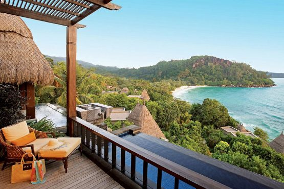 The ultra luxurious Maia Resort in the Seychelles, which Tsogo Sun developed as a joint-venture back in 2006. Image: Supplied