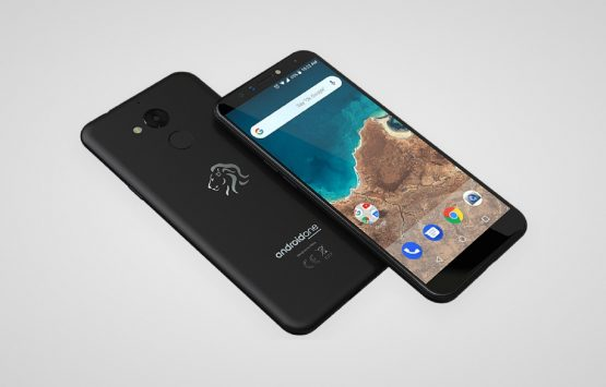 The Mara Z, one of the models of the Mara Group's new smartphone being manufactured at its new plant at the Dube TradePort SEZ, north of Durban. The manufacturing plant will officially be opened on Thursday. 