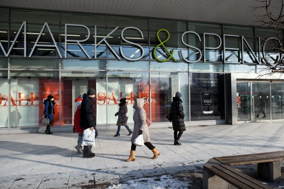 A Marks & Spencer department store in Warsaw, Poland. SA's listed property sector is heavily invested in the Central and Eastern Europe region. Photographer: Piotr Malecki/Bloomberg