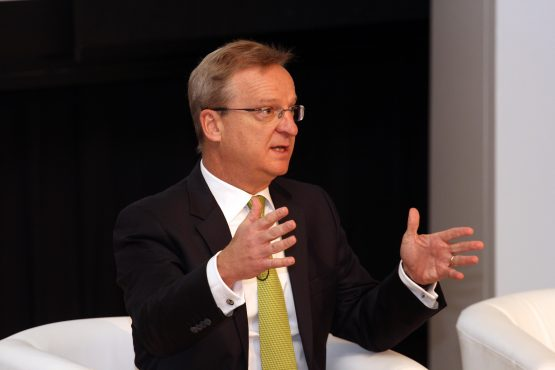 Nedbank CEO Mike Brown urges Cyril Ramaphosa to address the escalating levels of corruption. Picture: Moneyweb