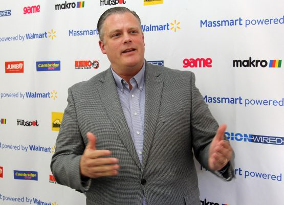 New broom … Massmart CEO Mitch Slape says the fresh and frozen food sections at Game stores