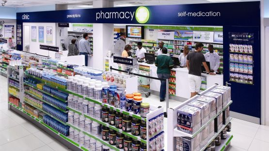 Despite pharmacy sales taking a hit, Clicks expects double-digit growth in headline earnings for its year to the end of August 2020. Image: Supplied
