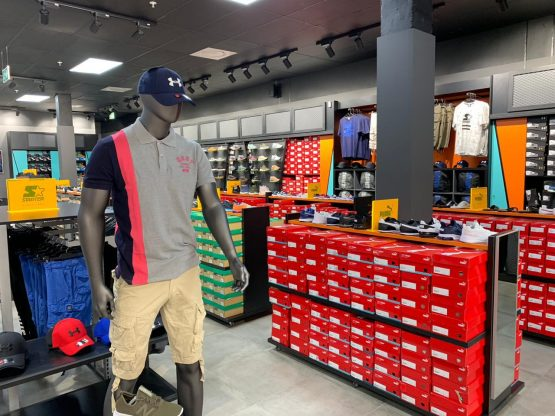The interior of the new Mr Tekkie store - despite the name, it's more about apparel than shoes.  Image: Supplied
