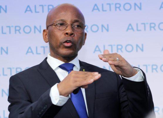 Altron CEO Mteto Nyati. Image: Moneyweb