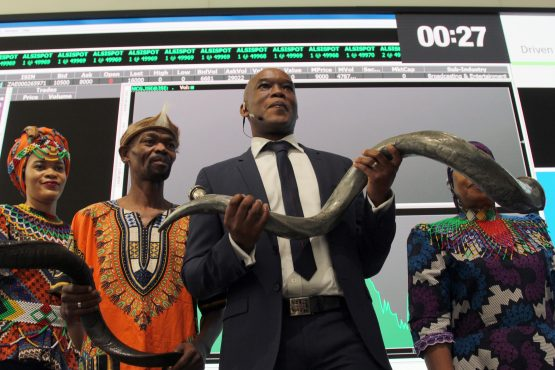 MultiChoice Group CEO Calvo Mawela. The company aims to grow its rest-of-Africa pay-TV subscribers from 14 million subscribers to 44 million by 2022. Picture: Moneyweb