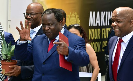 Finance minister Tito Mboweni says the arrears for power purchases must be collected from municipalities. Picture: Elmond Jiyane, GCIS