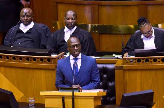 Around R45 billion of tax hikes and spending cuts are needed in the next fiscal year. Picture: Elmond Jiyane/GCIS