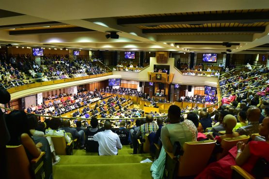 Many dream of winning R1m in the lottery. Others sit on the backbenches and earn that in a year. Picture: Elmond Jiyane/GCIS