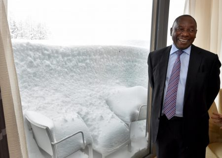 Heavy snow humbles the global elite at Davos summit