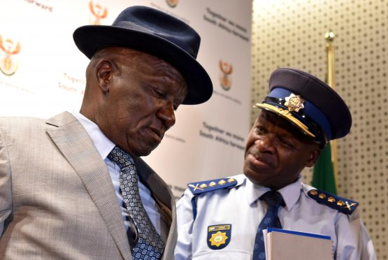 Police minister Bheki Cele is cracking down on gang-related violence at the Cape Flats in Cape Town. Picture: GCIS