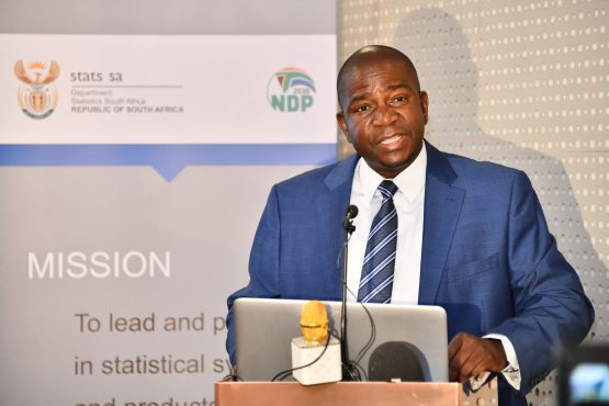 Statistician-General and Head of Statistics SA Risenga Maluleke. Image: GCIS