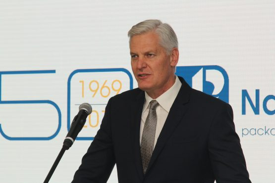 Andre de Ruyter will leave his post as Nampak CEO to take up the role as Eskom's new CEO. Image: Moneyweb