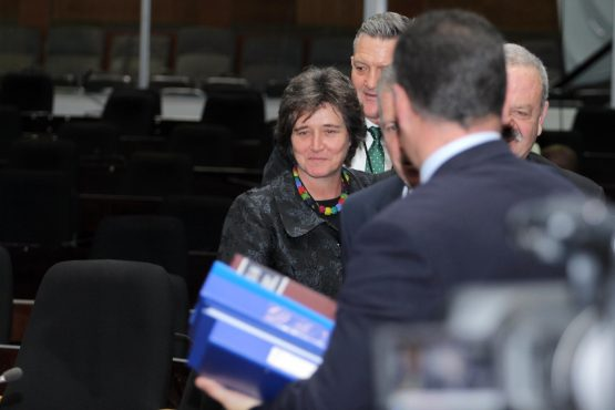 JSE CEO Nicky Newton-King (pictured) was part of a delegation that accompanied Andries Visser when he appeared at the PIC inquiry on Monday. Picture: Moneyweb