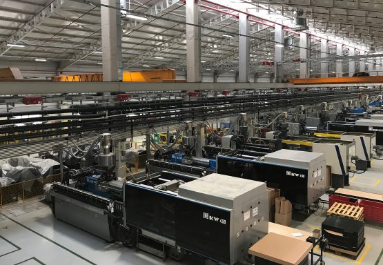 Metair's plastics plant. The group is building two new plants as part of a component supply deal with Ford SA. Image: Supplied
