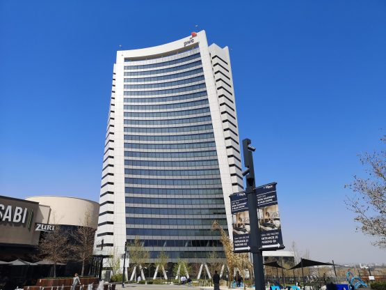 Negligence, or something more sinister? The auditors' appointment was irregular, they were paid close to R70m by the taxpayer-funded airline over four years, and they gave its financials a clean bill of health. PwC Tower in Midrand pictured. Image: Moneyweb
