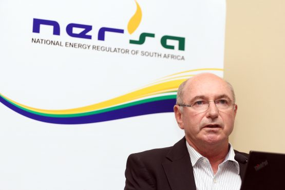 Sibanye Stillwater senior vice president Peter Turner making a presentation at energy regulator Nersa's public hearings dealing with Eskom's application for a 19.9% average tariff increase. Picture: Moneyweb