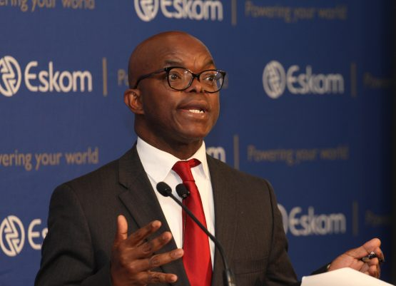 Eskom CEO Phakamani Hadebe also says there's no need to consider 'functionally unbundling' or splitting the power utility. Picture: Moneyweb