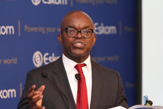 Eskom CEO Phakamani Hadebe last month put the utility's total debt at about R450bn. Picture: Moneyweb