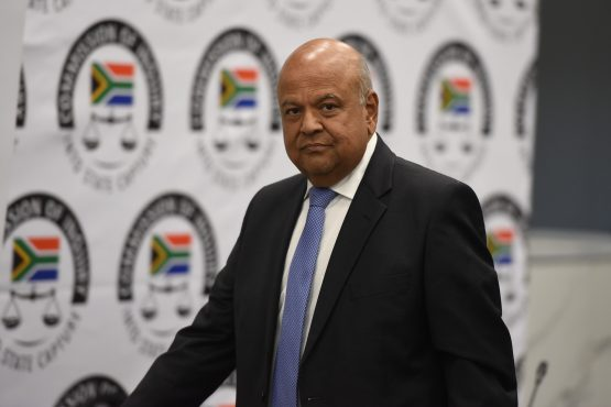 Pravin Gordhan was speaking at the commission, headed by Deputy Chief Justice Raymond Zondo. Picture: Refilwe Modise, Citizen