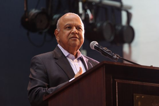 Former inance Minister Pravin Gordhan. Picture: Moneyweb