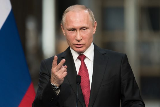 Russian President Vladimir Putin is looking to increase his involvement in African countries that used to be colonial powers on the continent. Image: Shutterstock