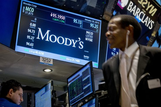 Moody's has given the country a period of 18 months to get its act together. Image: Brendan McDermid/Reuters
