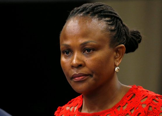 The first year in office for Public Protector Busisiwe Mkhwebane has been controversial. Picture: Mike Hutchings/Reuters