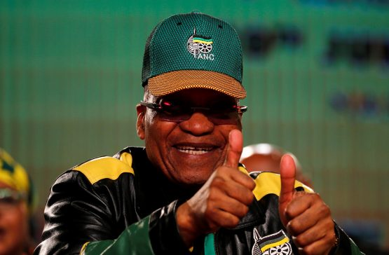 South Africa's President Jacob Zuma. Picture: Reuters