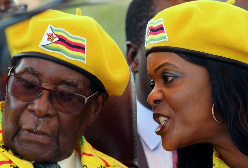 Mugabe fired as ruling party leader, Grace expelled from party