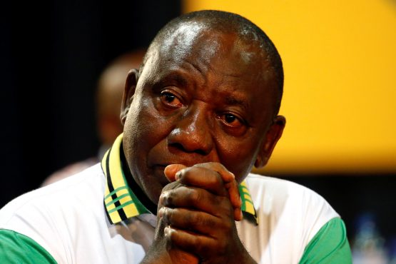 ANC leader Cyril Ramaphosa. Picture: Reuters