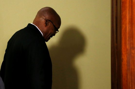 Former president Jacob Zuma has been sentenced to 15 month in prison. Image: Waldo Swiegers/Bloomberg