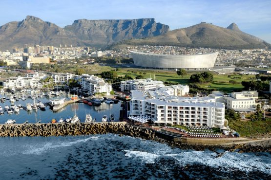The Cape Town Stadium, which was built for the 2010 World Cup. Image: Supplied