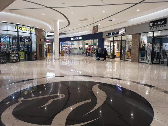Redefine Properties' Kyalami Corner shopping centre in Johannesburg. Retail tenants have been particularly impacted by restrictions on trade during lockdown. Image: Moneyweb