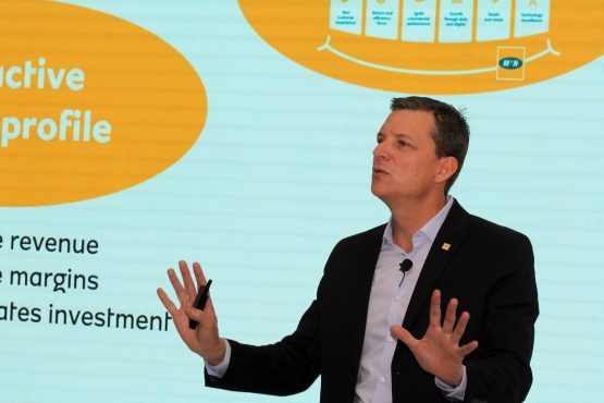 MTN CEO Rob Shuter says the company will take the legal route if an agreement is not settled with the CompCom. Image: Moneyweb