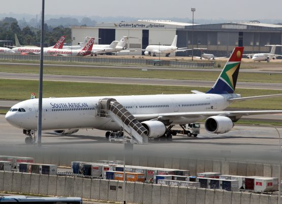South African Airways cancels nearly all flights for Friday, Saturday