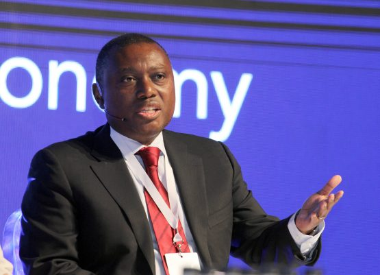 Shareholder activist Theo Botha says the bank and its CEO Sim Tshabalala (pictured) deserve enormous credit. Image: Moneyweb