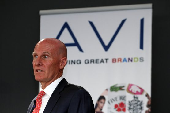 AVI CEO Simon Crutchley, speaking at the group's annual results presentation on Monday. Image: Moneyweb