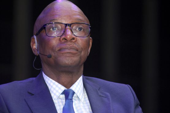 Sipho Pityana, speaking at the Business Economic Indaba in Sandton on Tuesday. Image: Moneyweb