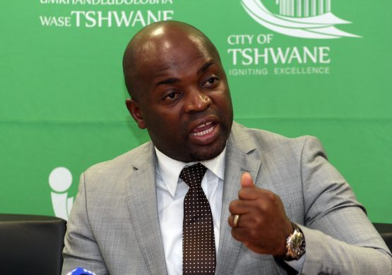 Solly Msimanga announced on Friday that he will step down as mayor of Tshwane in February. Picture: Moneyweb