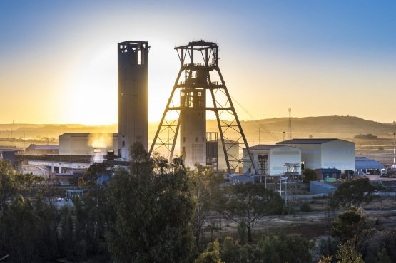 Goldfields' South Deep Mine. Image: Supplied