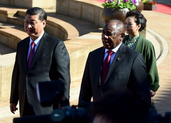 Ramaphosa turned his focus on revitalising Eskom gets a loan from China for the utility. Picture: GCIS