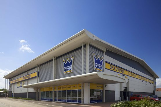 A Storage King property in the UK that is co-owned by Stor-Age. Image: Supplied