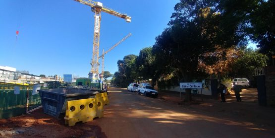 Streatley Avenue in Auckland Park, Johannesburg. Student housing is currently being developed there without necessary authorisation. Picture: Moneyweb